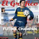 Fernando Gago - El Grafico Magazine Cover [Argentina] (October 2006)