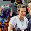 Bella Thorne and Dani Thorne at a Sugar Factory Event in Miami 03/13/2019 - 454 x 681