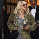 Rita Ora – Leaving her management office in London