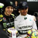 Lewis Hamilton&Valentino Rossi