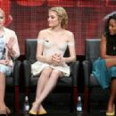 Actress Abigail Breslin speaks onstage during the 'Scream Queens' panel discussion at the FOX portion of the 2015 Summer TCA Tour at The Beverly Hilton Hotel on August 6, 2015 in Beverly Hills, California