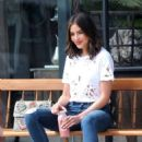 Olivia Culpo out in Brentwood - 454 x 681