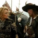 Elizabeth Swann and Barbossa