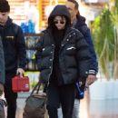 Selena Gomez – Arriving at JFK Airport in New York