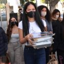 Kimora Lee Simmons – Seen while out Thanksgiving meals to the homeless in Los Angeles - 454 x 311
