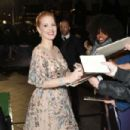 Jessica Chastain – 'Molly's Game' Premiere in London - 454 x 302