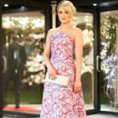 Dianna Agron wears Osman - ASMALLWORTH's 10th Anniversary Winter Weekend Gala Benefit