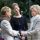 Meredith Baxter and Nancy Locke wedding Pics - 454 x 340