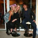 Bon Jovi guitar player Richie Sambora surprises his business partner Nikki Lund with a private party to celebrate her birthday in Hollywood on September 28, 2014