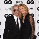 Keith Richards and Patti Hansen attend the GQ Men Of The Year Awards at The Royal Opera House on September 8, 2015 in London, England. - 436 x 600