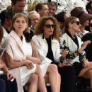 Rosamund Pike attends the Christian Dior show as part of Paris Fashion Week - Haute Couture Fall/Winter 2014-2015 on July 7, 2014 in Paris, France