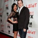 Ginger Gonzaga and Jim Jefferies - 396 x 594