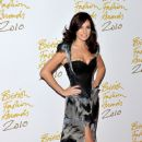 Kelly Brook - at British Fashion Awards in London 07/12/10