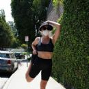 Natasha Alam – Working out in Beverly Hills - 454 x 681