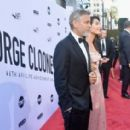 George Clooney and Amal Alamuddin : American Film Institute's 46th Life Achievement Award Gala Tribute - 454 x 282