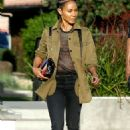 Jada Pinkett Smith – Out and about in Los Angeles - 454 x 687