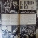 The Court Jester - Cine Tele Revue Magazine Pictorial [France] (1 August 1963) - 454 x 305