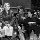 Hope Lange and Natalie Wood on the set of In Love and War (1958) - 454 x 374