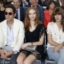 Lily Cole And Enrique Murciano - Christian Dior Paris Fashion Show F/W On July 5, 2010 - 454 x 303