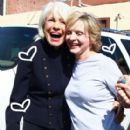 Carol with Florence Henderson