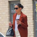 Katie Holmes – Out for coffee in New York