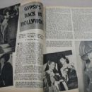 Gypsy Rose Lee - Silver Screen Magazine Pictorial [United States] (August 1944)