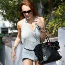 Lindsay Lohan - At A Friend's House In Los Angeles, 2009-07-24