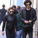 Rebecca Ferguson and her boyfriend Leave 'Mission Impossible 6' set in Paris - 454 x 726