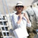 Catherine Zeta Jones on holiday in France - 454 x 583