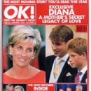 Princess Diana - OK! Magazine Cover [United Kingdom] (3 September 1999)