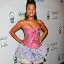 Jennia Fredrique - 20 Annual NAACP Theatre Awards In LA - August 30, 2010