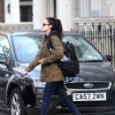 Kristen Stewart Leaving her London Apt November 16, 2011