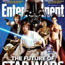 Harrison Ford, Carrie Fisher, Mark Hamill - Entertainment Weekly Magazine Cover [United States] (23 November 2012)