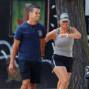 Miranda Lambert in Shorts – Out for a stroll in NYC - 454 x 672