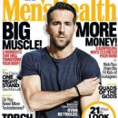 Ryan Reynolds - Men's Health Magazine Cover [South Africa] (April 2016)
