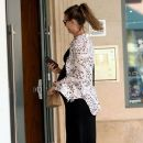 Behati Prinsloo is seen at the doctor's office in Beverly Hills, California on August 2, 2016