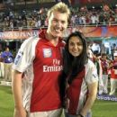 Brett Lee and Preity Zinta - 454 x 340