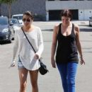 Lea Michele: out in Beverly Hills