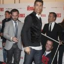 Cristiano Ronaldo and James Rodriguez attend Jorge Mendes' new book launch ahead of Real Madrid's clash with Cordoba