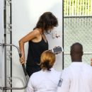 Penelope Cruz on set for 'American Crime Story' in Miami - 454 x 489