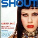 Fairuza Balk - Shout Magazine Cover [United States] (March 2001)