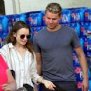 Lily Collins – Shopping at Bristol Farms in Beverly Hills - 454 x 473