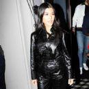 Kourtney Kardashian – Leaving Craigs in West Hollywood - 454 x 721