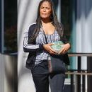 Laila Ali – Shopping candids in Los Angeles - 454 x 730