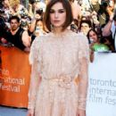 "Keira Knightley: International Film Festival premiere of ""A Dangerous Method"""