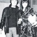 Mick Jagger and Chrissie Shrimpton
