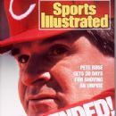 Pete Rose - Sports Illustrated Magazine Cover [United States] (9 May 1988)