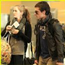 Zoey Deutch and Josh Hutcherson