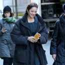 Marion Cotillard on movie set James Gray Project
