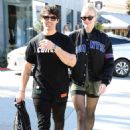 Sophie Turner and Joe Jonas – Shopping at Lorenzo in West Hollywood
